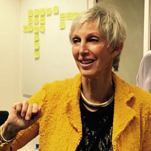JoAnne Freeman meeting facilitator and female leadership
